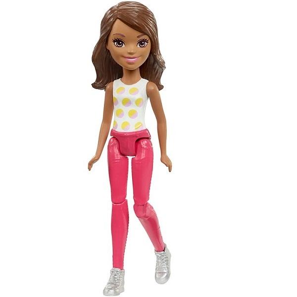 Mattel Barbie FHV56 Барби Кукла В движении Polka mattel barbie dmb27 барби сестра barbie с питомцем