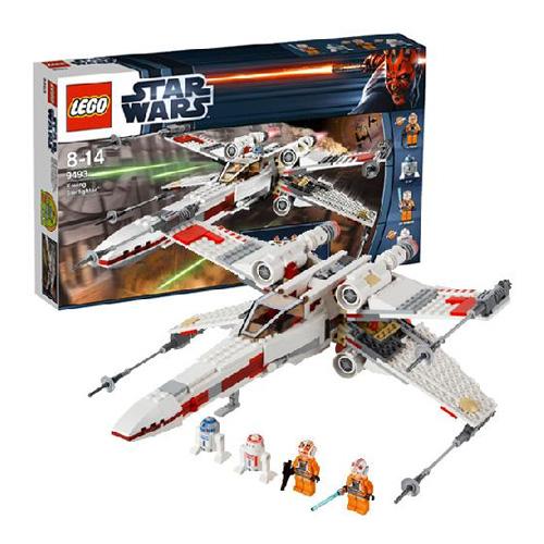 LEGO Star Wars 9493_1 Конструктор Лего Звездные войны Истребитель X-wing