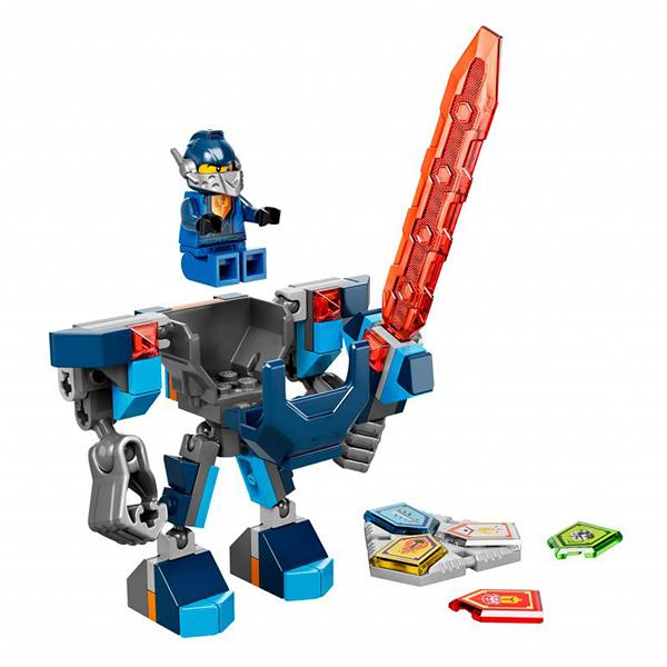 Lego Nexo Knights 70362 Конструктор Лего Нексо Боевые доспехи Клэя