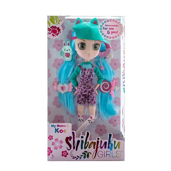 Shibajuku Girls HUN6621 Кукла Кое, 33 см