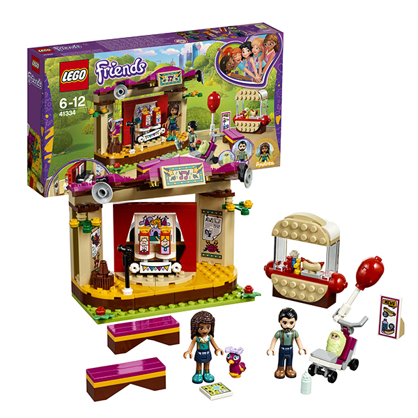 Lego Friends 41334 Конструктор Лего Подружки Сцена Андреа в парке
