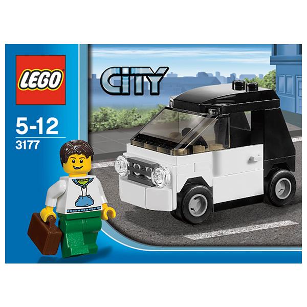 Lego City 3177 Конструктор Лего Город Маленький автомобиль