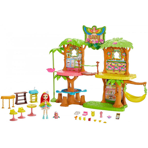 Mattel Enchantimals GFN59 Джунгли-кафе