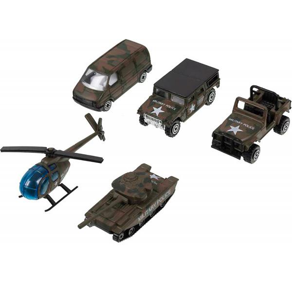 Welly 97506C Велли Игровой набор Военно-полицейская команда 5 шт