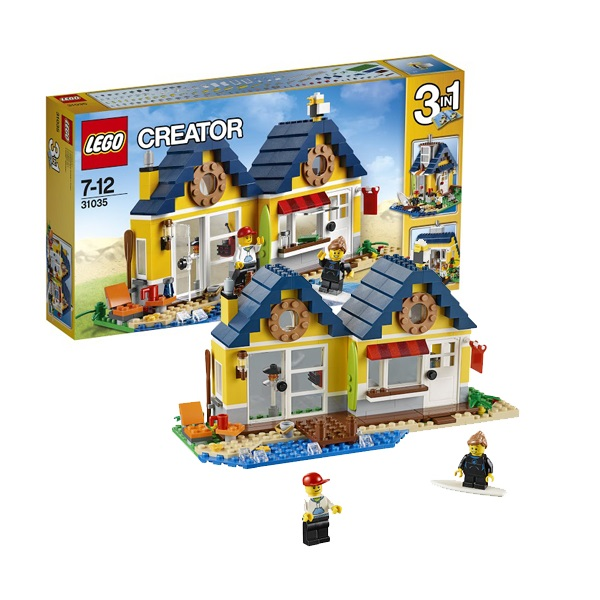 Конструктор Lego Creator 31035 Лего Криэйтор Домик на пляже