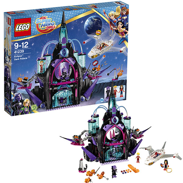 Lego Super Hero Girls 41239 Конструктор Лего Супергёрлз Тёмный дворец Эклипсо конструктор lego super hero girls харли квинн спешит на помощь 217 элементов 41231