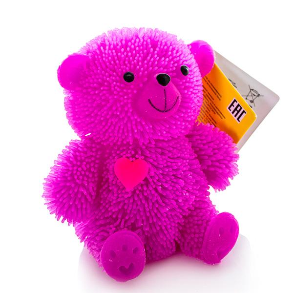 HGL SV10998 Фигурка медведя с резиновым ворсом с подсветкой (в ассортименте) цена