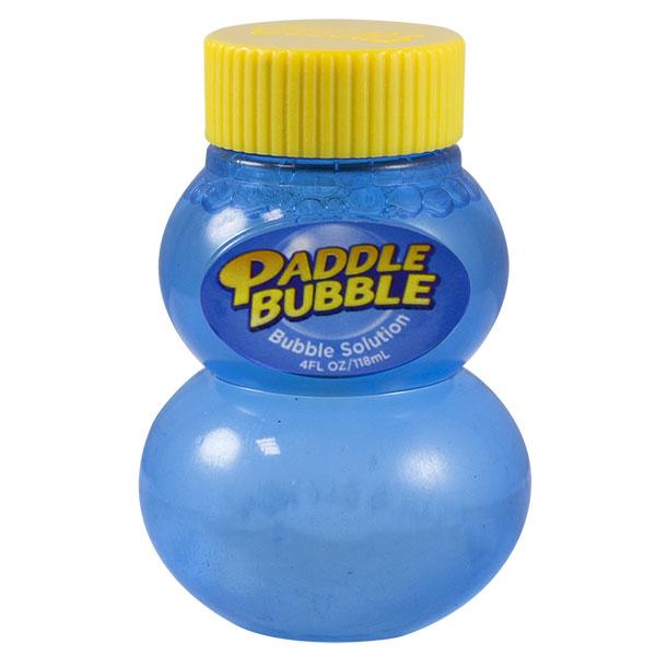 Paddle Bubble 280254 Бутылочка с мыльным раствором, 120 мл paddle bubble 278213 мыльные пузыри 60 мл с набором ракеток