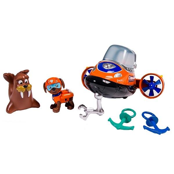 Paw Patrol 16630 Щенячий патруль Зума и морские приключения spin master большой автомобиль спасателей погрузчик рокки щенячий патруль