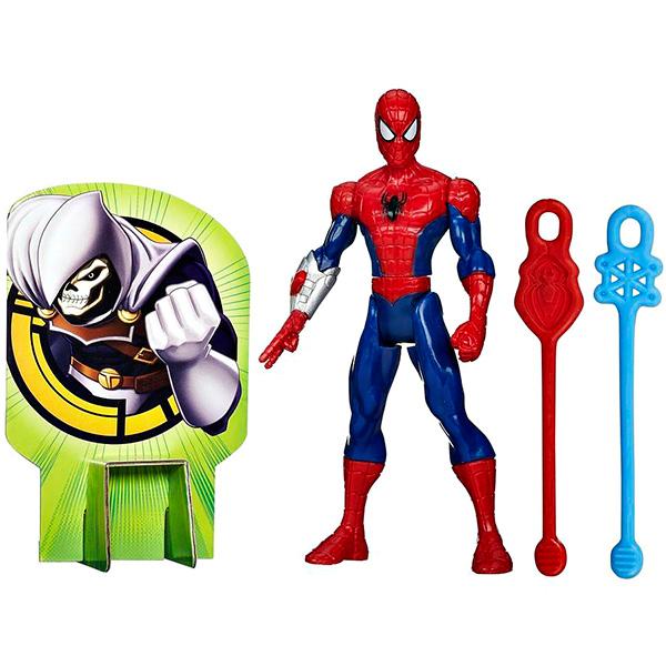 Hasbro Spider-Man B0571 Боевые фигурки Человека-Паука (в ассортименте) hasbro spider man b5757 титаны электронные фигурки человека паукa в ассортименте