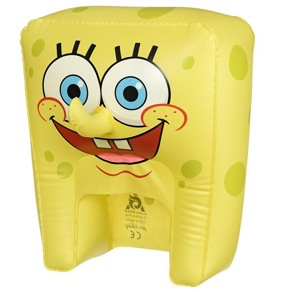 SpongeBob EU690601 Шляпа надувная в виде персонажа (Спанч Боб смеется) цена 2017