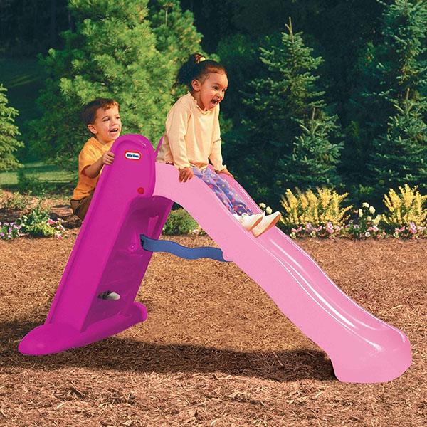 Little Tikes 170805 Литл Тайкс Горка складная 150 см, розовая