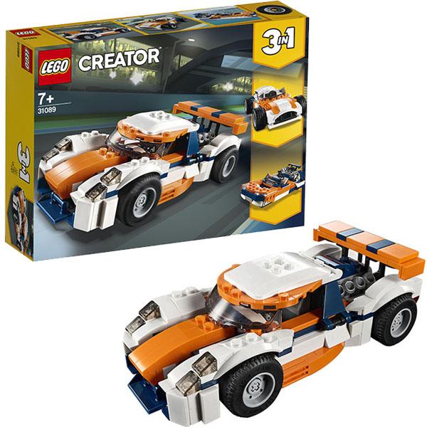 LEGO Creator 31089 Конструктор ЛЕГО Криэйтор Оранжевый гоночный автомобиль цена