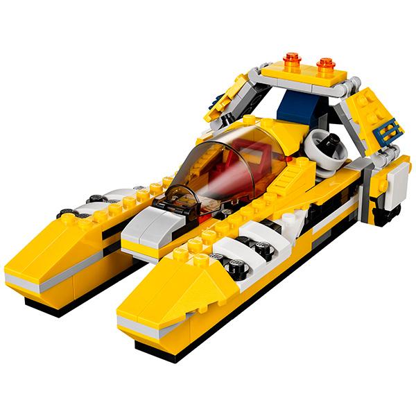 Конструктор Лего Криэйтор 31023 Конструктор Жёлтый скоростной вертолет