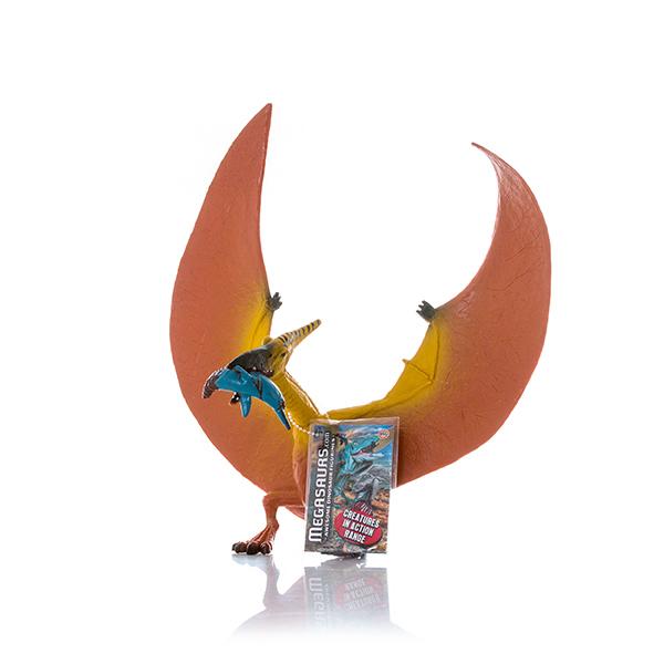 HGL SV12433 Игрушка фигурка Птеродактиль ест Ихтиозавра megasaurs hgl фигурка динозавра мегалозавр