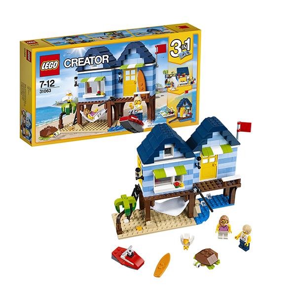 Lego Creator 31063 Конструктор Лего Криэйтор Отпуск у моря конструктор деревянный лесовичок разборный домик 7