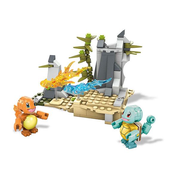 Mattel Mega Bloks DYF10 Мега Блокс Сквиртл/Чармандер mattel mega bloks dlb78 мега блокс базовые игровые наборы