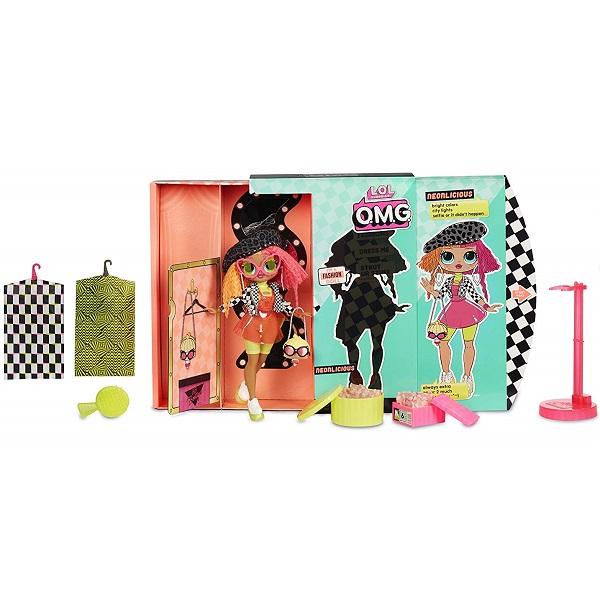 L.O.L. Surprise 560579 Кукла OMG Neonlicious 23 см