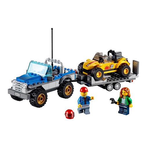 Lego City 60082 Конструктор Лего Город Перевозчик песчаного багги