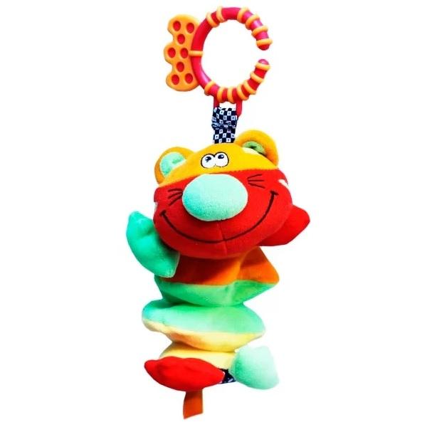 Фото - ROXY-KIDS RBT20015 Игрушка развивающая Тигренок Гигл с забавным смехом roxy kids rbt20014 игрушка развивающая слоненок сквикер пищалка внутри размер 18 см