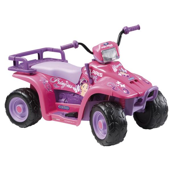 Детский электроквадроцикл Peg-Perego ED1097 Polaris Princess