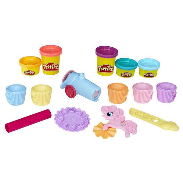 Hasbro Play-Doh B9324 Игровой набор пластилина Вечеринка Пинки Пай наборы для лепки play doh игровой набор сумасшедшие прически