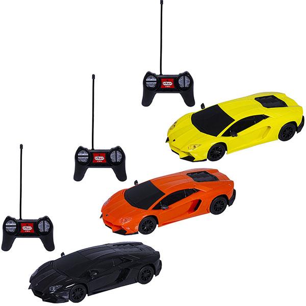 Wincars DS-2009 Lamborghini Aventador LP720-4 (лицензия), Р/У, масштаб 1:24, ЗУ в комплекте машина lamborghini aventador lp720 4 на р у чёрн 1 16 1061ob lamborghini