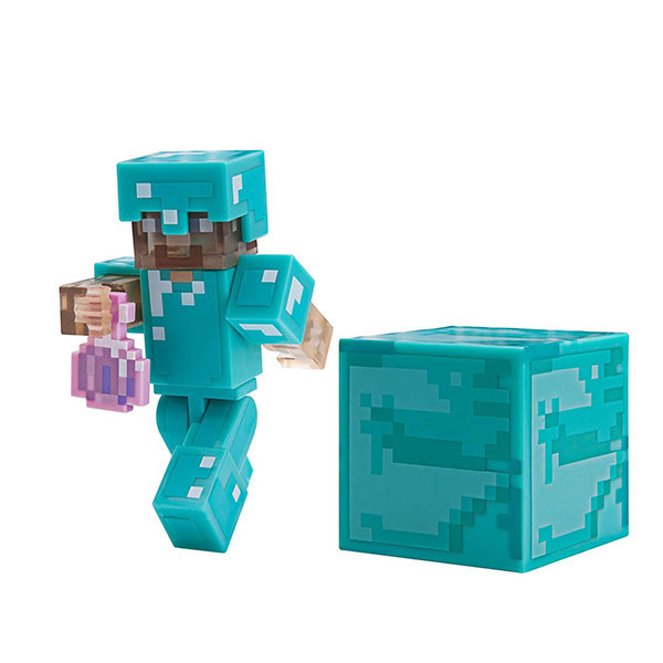 Minecraft 19976 Майнкрафт фигурка Steve with Invisibility Potion jazwares фигурка стив 8см minecraft