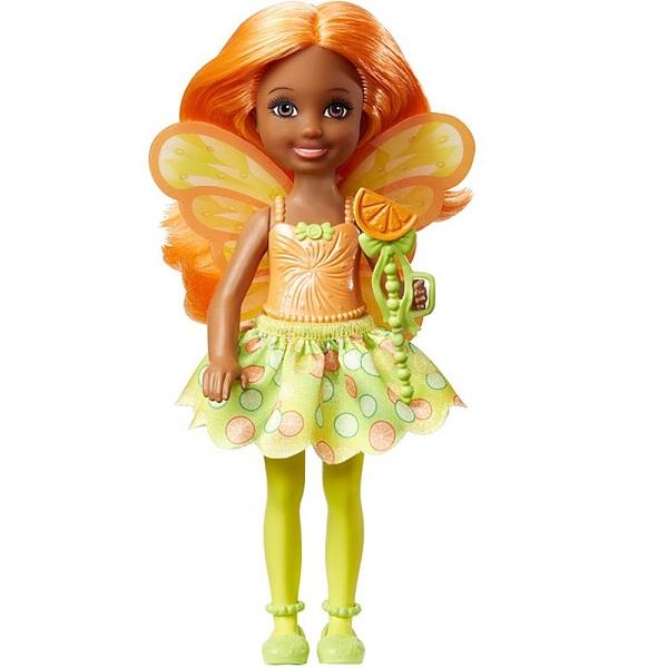 Mattel Barbie DVM89 Барби Маленькая фея Челси Цитрус mattel кукла челси barbie