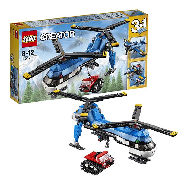 Lego Creator 31049 Лего Криэйтор Двухвинтовый вертолет lego creator 31042 лего криэйтор реактивный самолет