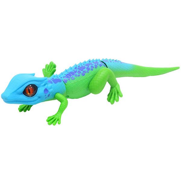 """цена на Zuru RoboAlive T10993 Игрушка """"Роботизированная ящерица,сине-зеленая"""""""
