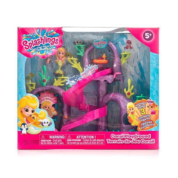 """Splashlings 297559 Сплешлингс Игровой набор """"Коралловая игровая площадка"""""""