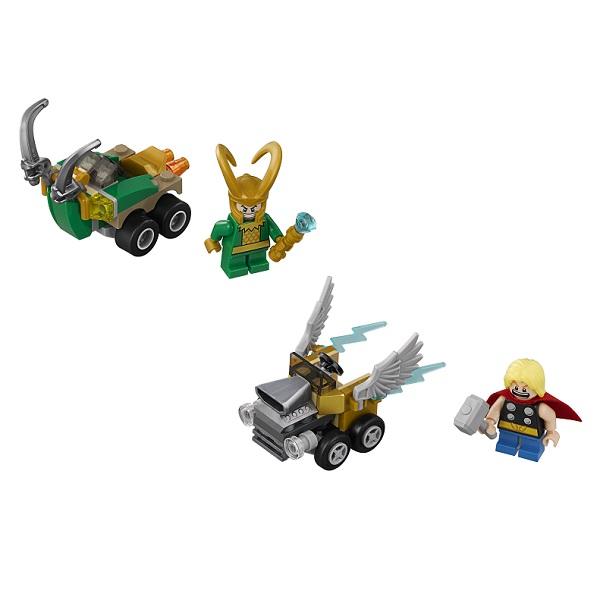 Lego Super Heroes Mighty Micros 76091 Конструктор Лего Супер Герои Тор против Локи