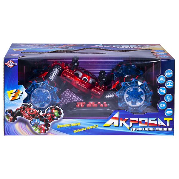 Wincars YK-2033 Машина Акробат на катках с подвижными осями, ездит боком, звук, свет, Р/У, USB-заряд