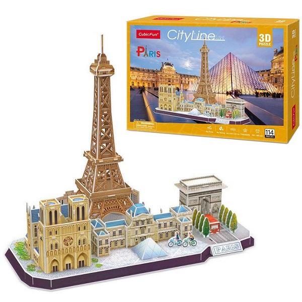 цена на Cubic Fun MC254h Достопримечательности Парижа