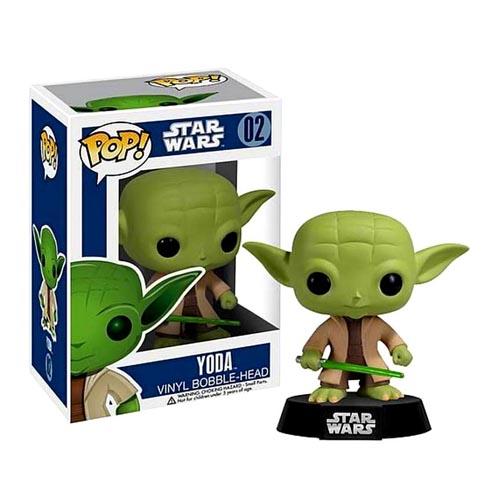 Funko 2322F Звездные Войны Фигурка Star Wars Yoda Йода, башкотряс