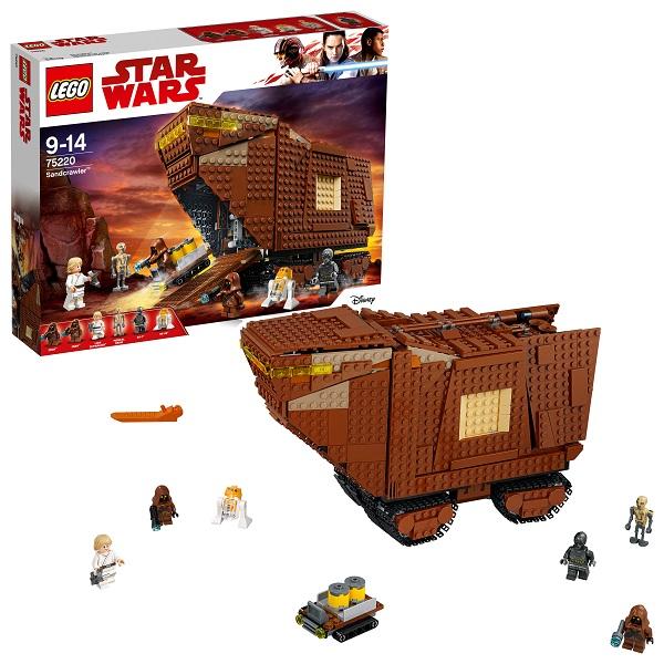 Lego Star Wars 75220 Конструктор Лего Звездные Войны Песчаный краулер