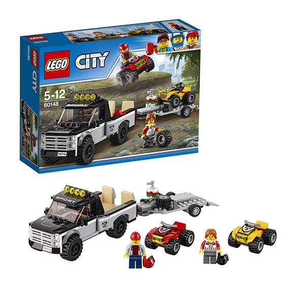 Lego City 60148 Конструктор Лего Город Гоночная команда lego city 60110 лего город пожарная часть