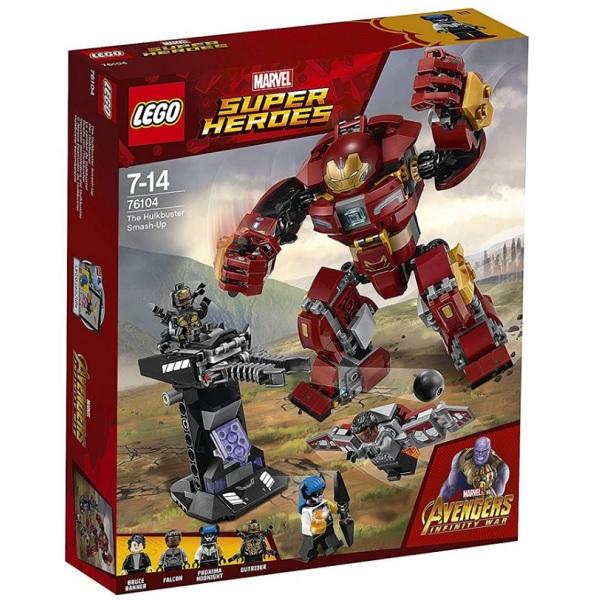 Lego Super Heroes 76104 Конструктор Лего Супер Герои Бой Халкбастера