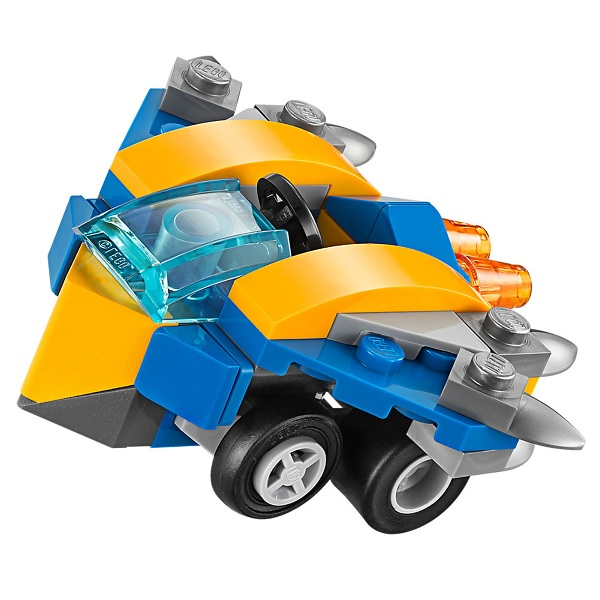 Lego Super Heroes Mighty Micros 76090 Конструктор Лего Супер Герои Звёздный Лорд против Небулы