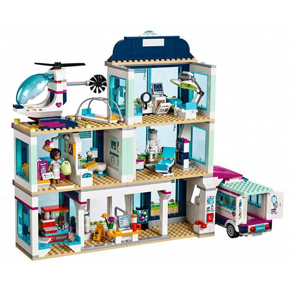 Lego Friends 41318 Конструктор Клиника Хартлейк-Сити