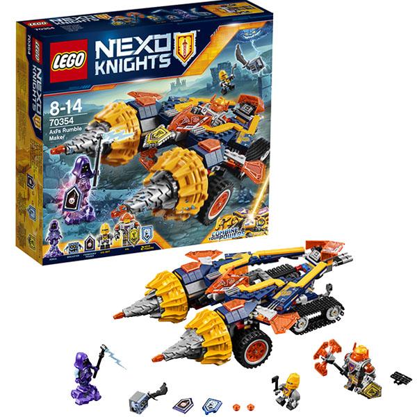 Купить Lego Nexo Knights 70354 Лего Нексо Бур-машина Акселя 70354