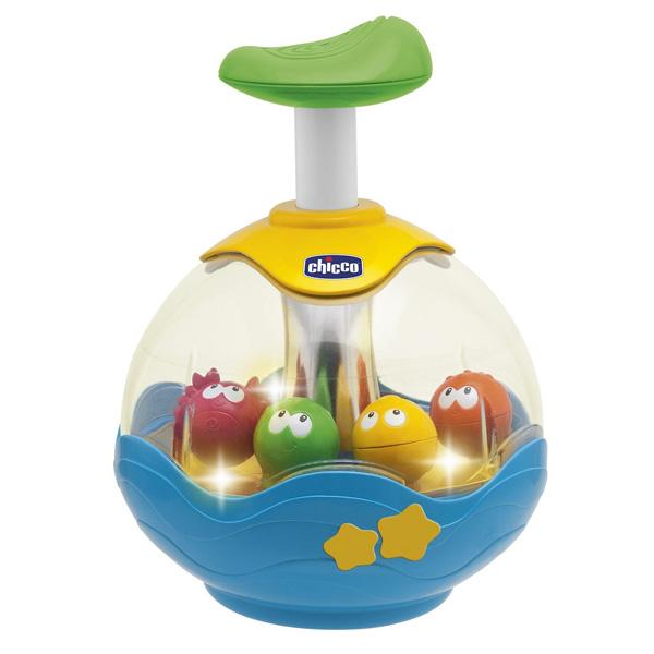 CHICCO TOYS 70074AR Игрушка музыкальная ЮЛА AQUARIUM развивающие игрушки стеллар юла