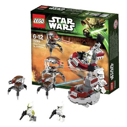 Lego Star Wars 75000_1 Конструктор Лего Звездные Войны Штурмовики-клоны против Дроидеков
