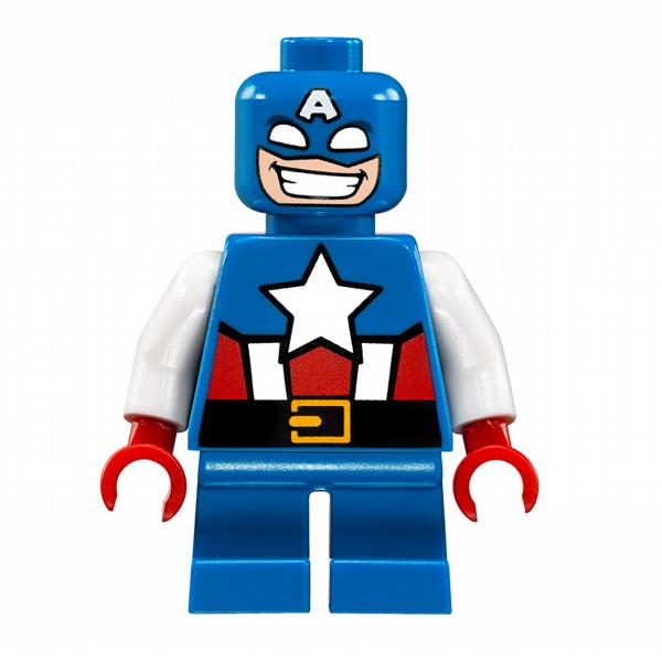 Lego Super Heroes 76065 Конструктор Лего Супер Герои Капитан Америка против Красного Черепа