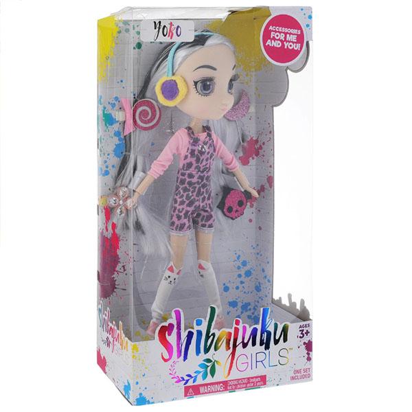 Shibajuku Girls HUN7712 Кукла Йоко 3F, 33 см