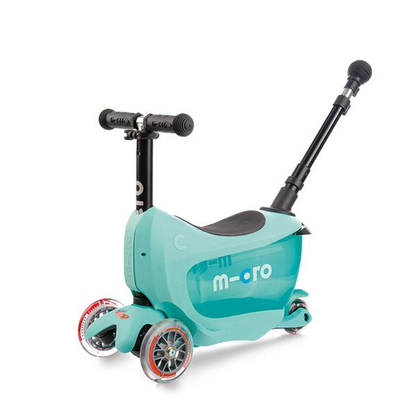 Micro MMD031 Самокат Mini2Go Deluxe Plus, ментоловый