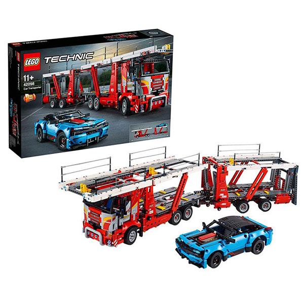 все цены на LEGO Technic 42098 Конструктор ЛЕГО Техник Автовоз онлайн