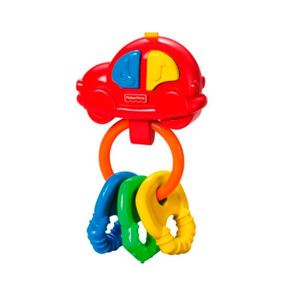 """Mattel Fisher-Price G6648_9 Фишер Прайс Погремушка-прорезыватель """"Музыкальная машинка"""""""