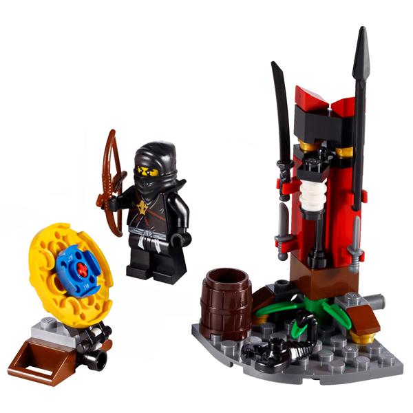 Lego Ninjago 2516 Конструктор Лего Ниндзяго Тренировочная застава ниндзя